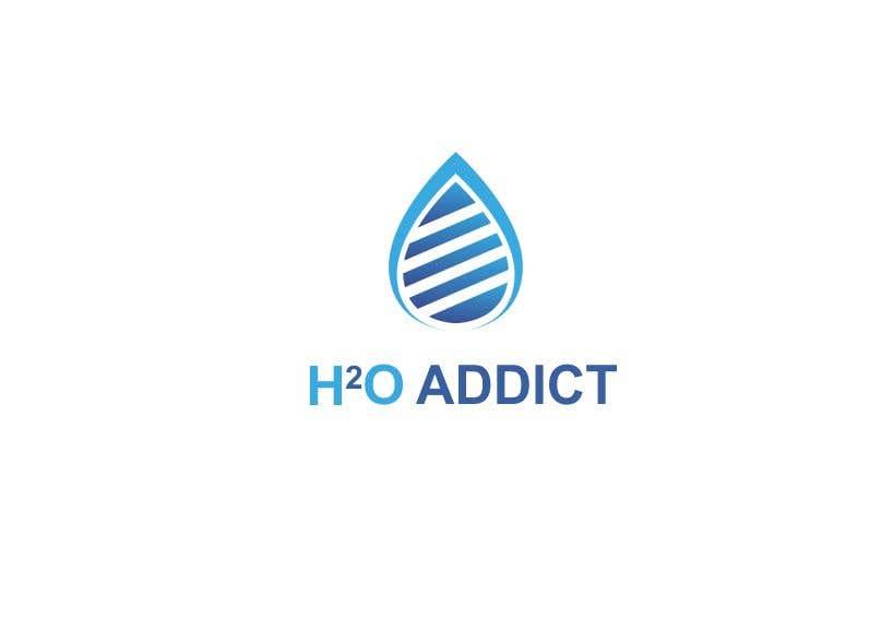 Penyertaan Peraduan #                                        45                                      untuk                                         Logo: H20 Addict