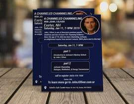 #130 para Flyer for Channeled Evening por mithunmarandi