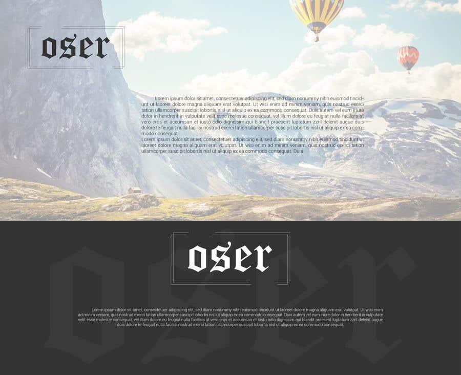 Конкурсная заявка №                                        2515                                      для                                         Design a typography Logo