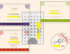 #7 untuk Make an e-invite from physical wedding card design oleh jayeshhumbal
