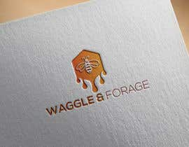 "#570 cho Logo design for new small business - ""Waggle & Forage"" bởi sweetys7780"