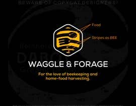 "#653 cho Logo design for new small business - ""Waggle & Forage"" bởi reincalucin"