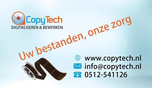 Konkurrenceindlæg #                                        22                                      for                                         Business Card Design for Copytech.nl