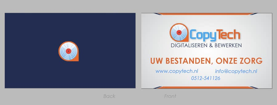 #23 for Business Card Design for Copytech.nl by nikster08
