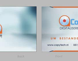 #31 cho Business Card Design for Copytech.nl bởi nikster08