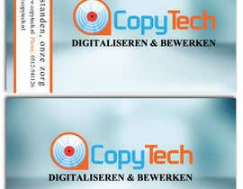 #25 cho Business Card Design for Copytech.nl bởi sjenkinsjr