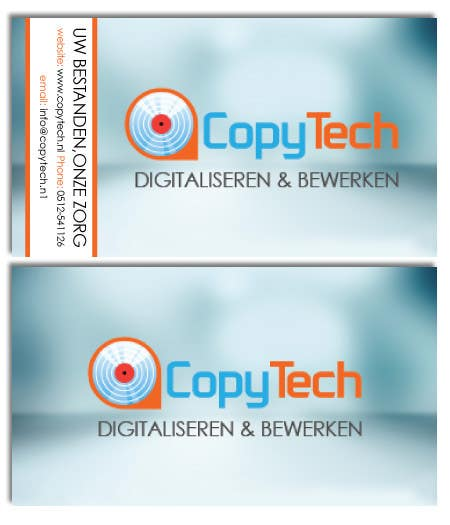 #46 for Business Card Design for Copytech.nl by sjenkinsjr