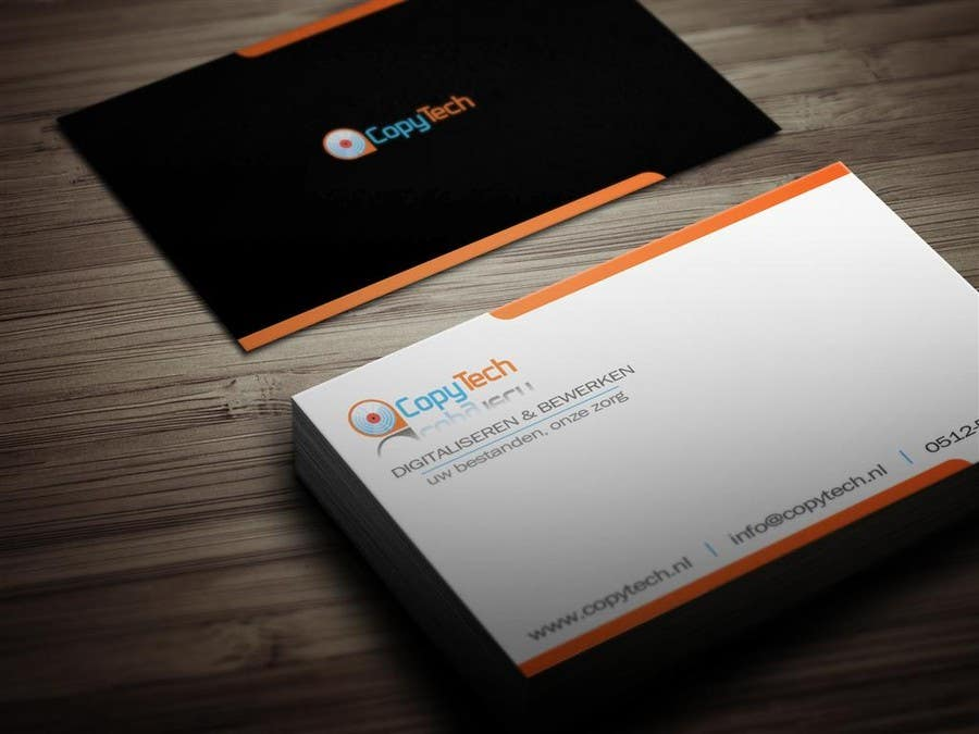 #41 for Business Card Design for Copytech.nl by MagicProductions