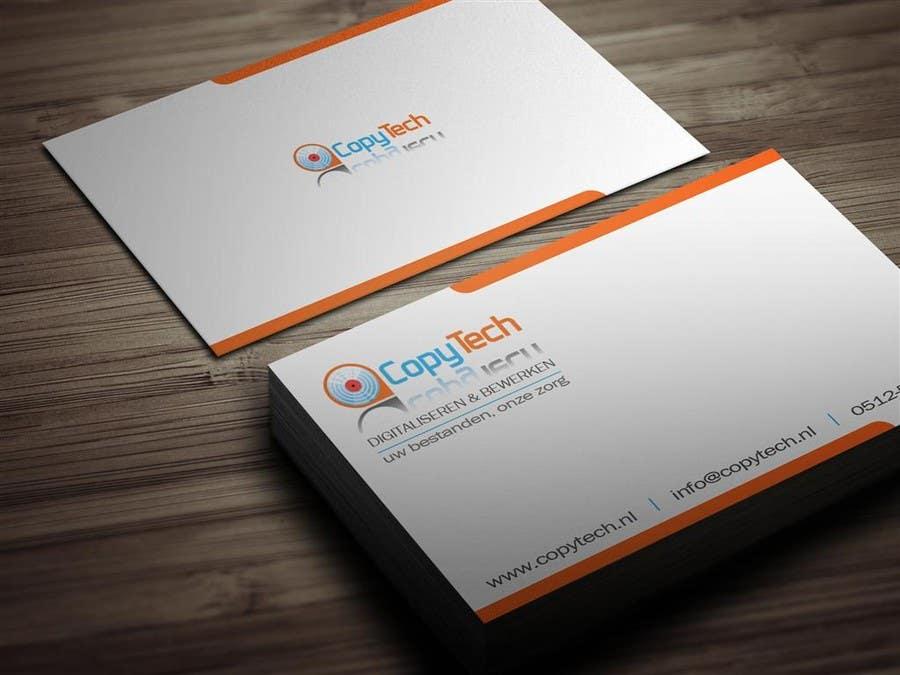 Konkurrenceindlæg #                                        55                                      for                                         Business Card Design for Copytech.nl