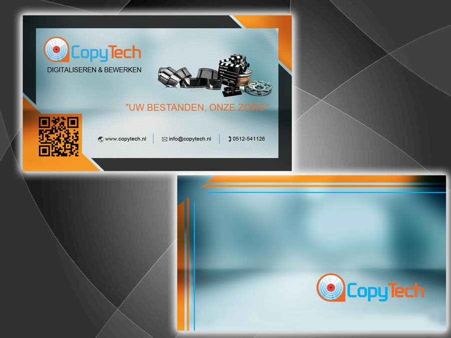 #53 for Business Card Design for Copytech.nl by argpan