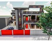 Bài tham dự #10 về 3D Modelling cho cuộc thi House facade design