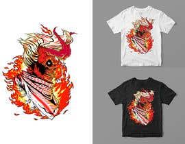 Nro 106 kilpailuun T-Shirt Design - Illustrate an evil skull (UP-004) käyttäjältä orrlov