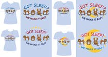 Proposition n° 42 du concours Graphic Design pour T-shirt Design for Tired Teddies Guerrilla Marketing Campaign