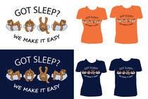 T-shirt Design for Tired Teddies Guerrilla Marketing Campaign için Graphic Design97 No.lu Yarışma Girdisi