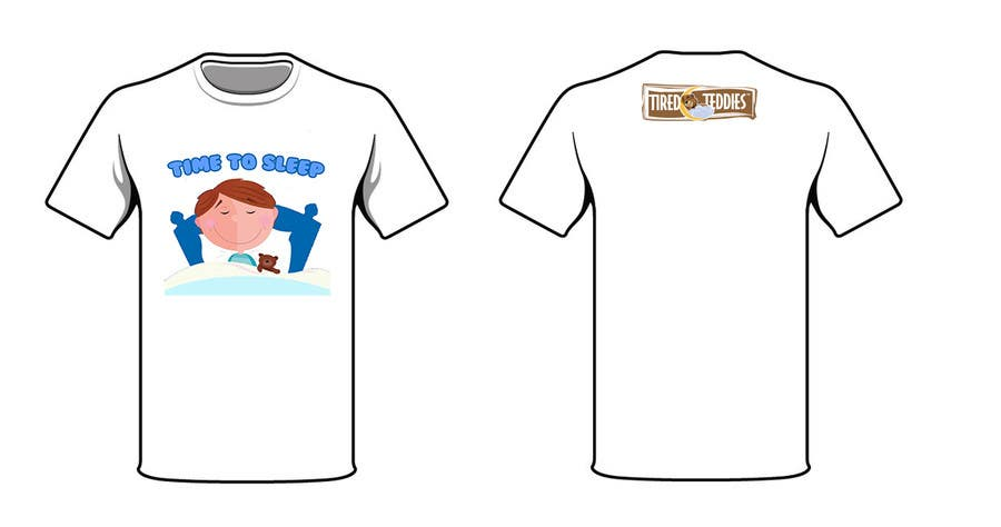Proposition n°                                        78                                      du concours                                         T-shirt Design for Tired Teddies Guerrilla Marketing Campaign