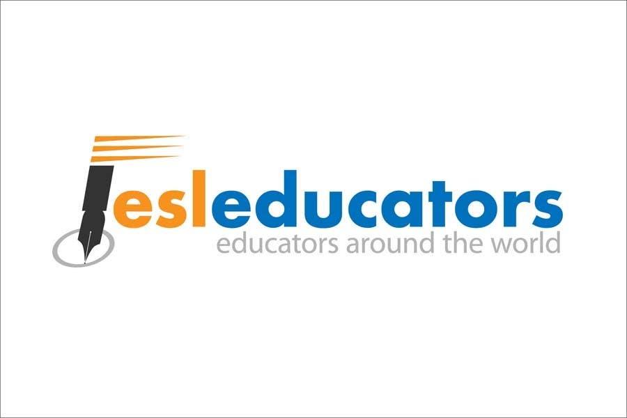 Konkurrenceindlæg #                                        15                                      for                                         Logo Design for ESL website