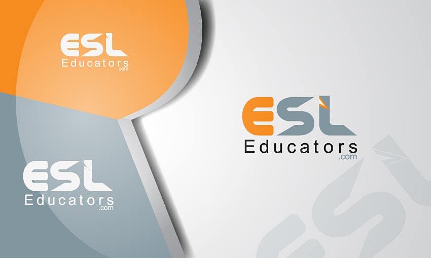 Konkurrenceindlæg #                                        25                                      for                                         Logo Design for ESL website