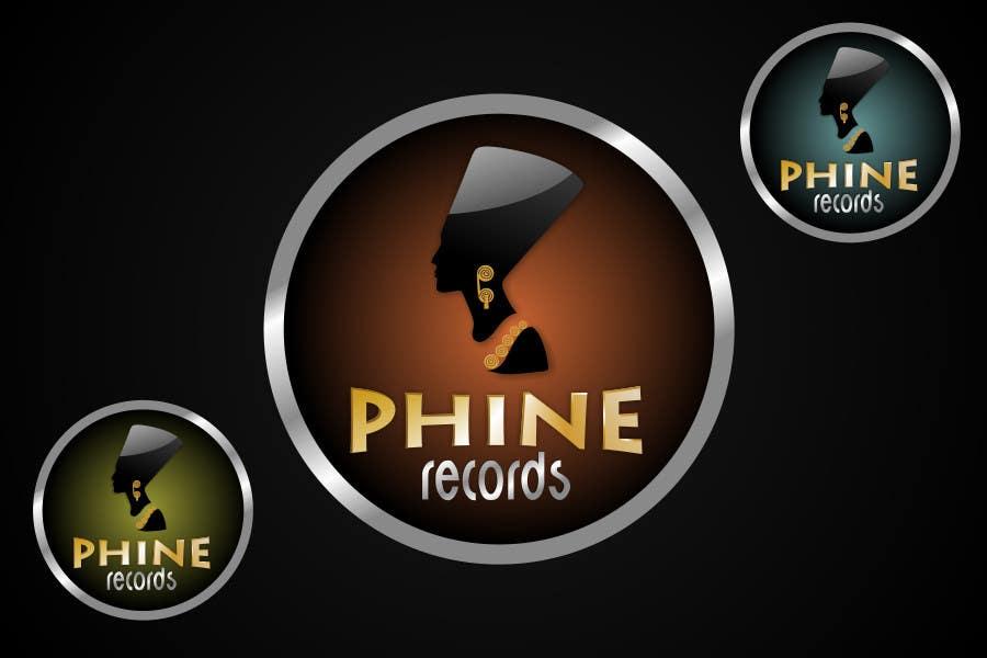 Penyertaan Peraduan #                                        32                                      untuk                                         Logo Design for Phine Records