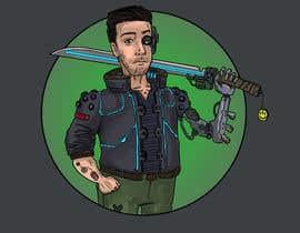 Nro 34 kilpailuun Turn me into a Cyberpunk Character! käyttäjältä Maxoverdrawn