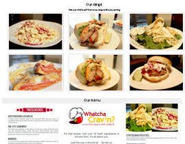 #7 for Whatcha Cravin Website af RidgeIT