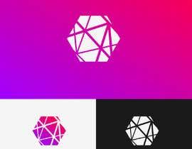 #49 for Realizzazione logo minimale, geometrico, lineare (Simile a quello in allegato - Con un esagono) by rubellhossain26