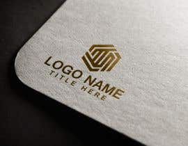 #35 for Realizzazione logo minimale, geometrico, lineare (Simile a quello in allegato - Con un esagono) by amhuq