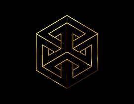 #44 for Realizzazione logo minimale, geometrico, lineare (Simile a quello in allegato - Con un esagono) by efecanakar