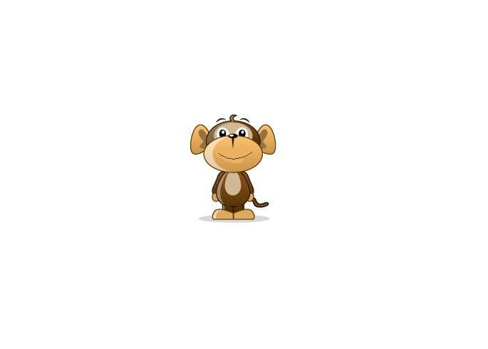 Inscrição nº                                         1                                      do Concurso para                                         Cartoon Monkey (Consider this your application for a bigger job)
