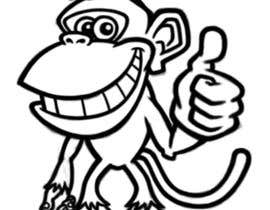 #13 para Cartoon Monkey (Consider this your application for a bigger job) por bibeksapkota