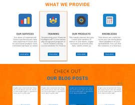 bilawalalishah tarafından Design a Website Mockup for Access Analytic için no 18