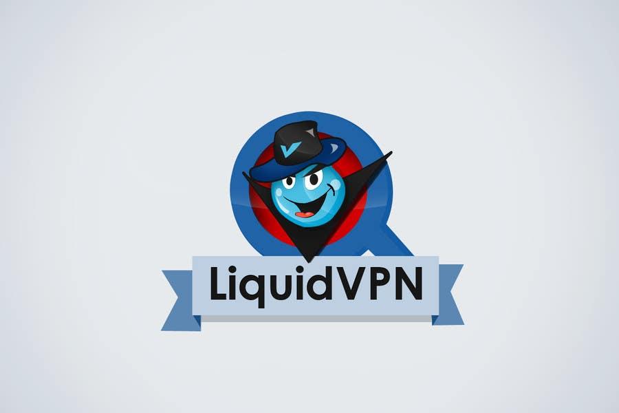 Penyertaan Peraduan #                                        48                                      untuk                                         Logo Design for LiquidVPN