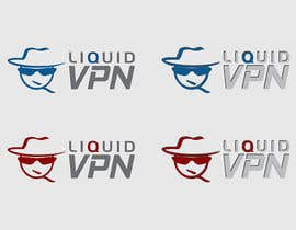 nº 45 pour Logo Design for LiquidVPN par IIDoberManII