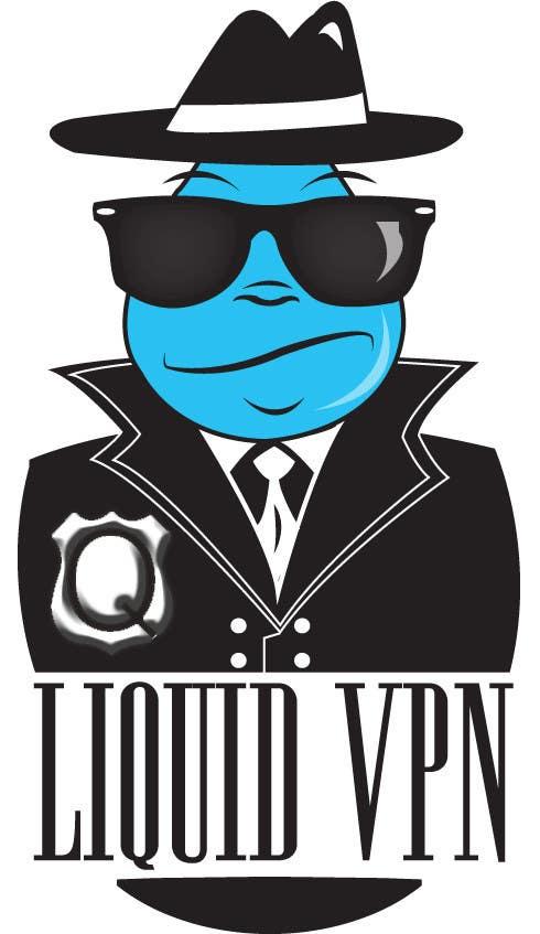 Penyertaan Peraduan #                                        26                                      untuk                                         Logo Design for LiquidVPN