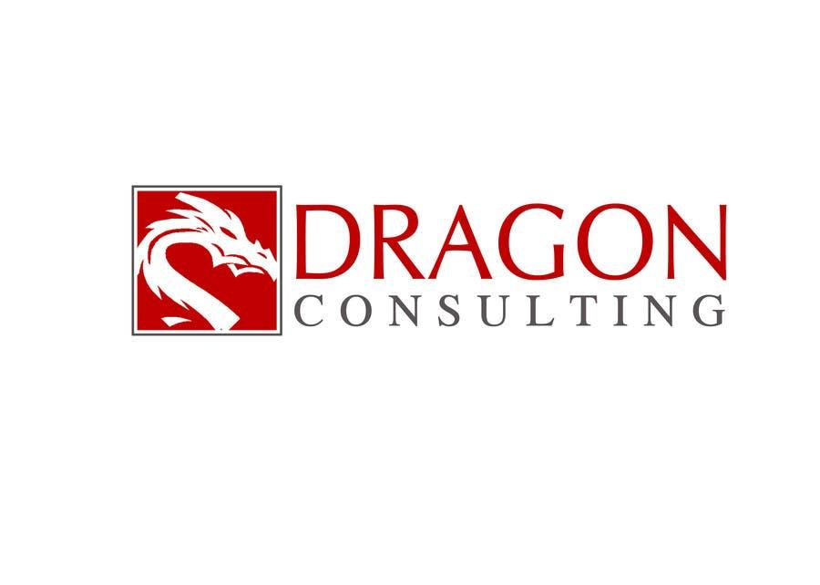 Kilpailutyö #                                        206                                      kilpailussa                                         Logo Design for Dragon Consulting