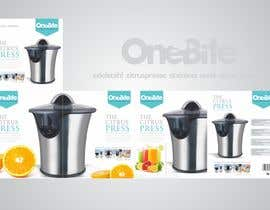 #31 cho Create Minimalistic Print and Packaging Designs for a Citrus Juicer bởi spartan7750