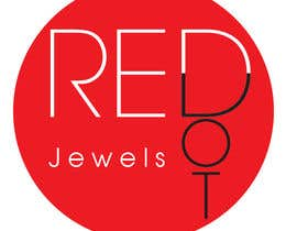 #58 para Logo Design for Red-Dot Jewels por eak108