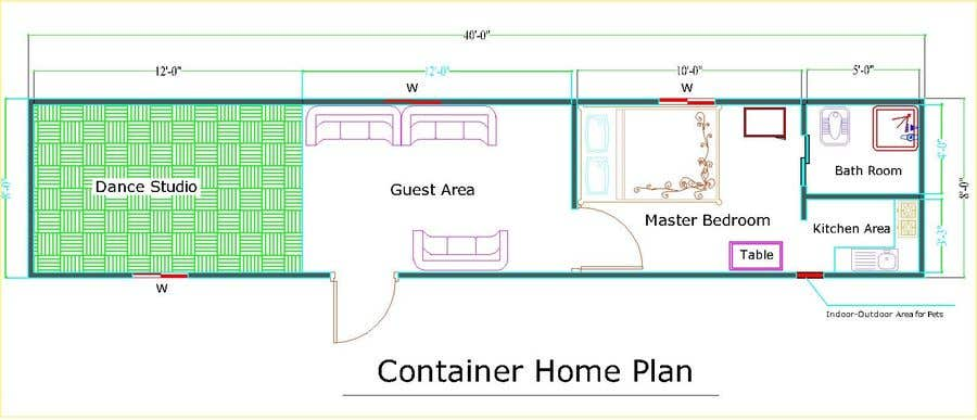 Entry 11 By Sharifullalesnad For Container Home Plan To Meet Florida Building Code Freelancer