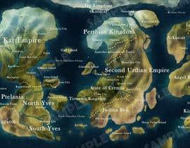 #13 for Map Illustration by ivreeane