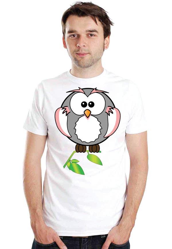 Bài tham dự cuộc thi #102 cho T-shirt Owl Design for Geek/Gamer Shop