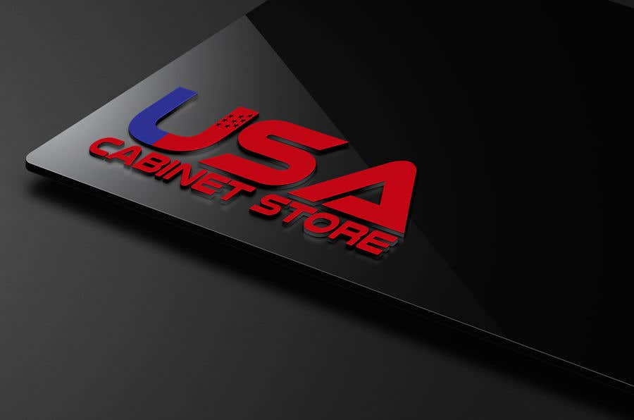Entry 25 By Psisterstudio For Usa Cabinet Store Logo Freelancer