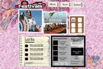 Graphic Design Konkurrenceindlæg #10 for Website Design for eFestivals
