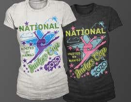 #292 for gymnastics event shirt design by Exer1976