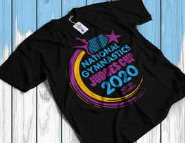 #207 for gymnastics event shirt design by Rakibul0696