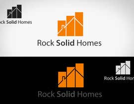 nº 77 pour Logo Design for Rock Solid Homes par topcoder10