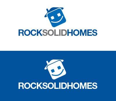 Bài tham dự cuộc thi #                                        262                                      cho                                         Logo Design for Rock Solid Homes