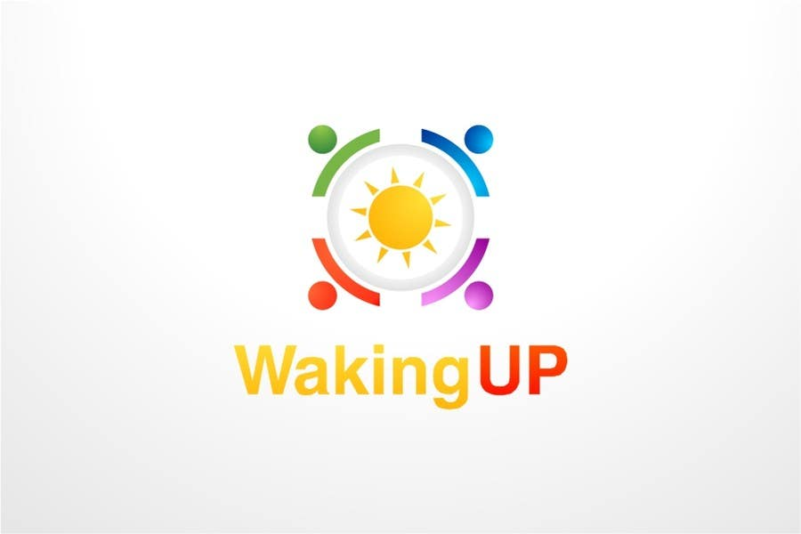 Proposition n°                                        34                                      du concours                                         LOGO representing 'waking up', 'awareness', 'knowledge' for humanitarian adventure