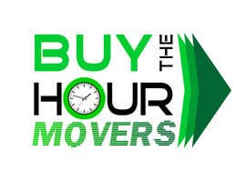 #88 para Logo Design for BUY the Hour Movers por plesua