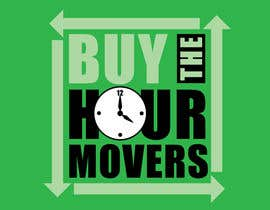 stanbaker tarafından Logo Design for BUY the Hour Movers için no 17