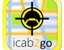 nº 22 pour Icon or Button Design for icab2go par Stevieyuki