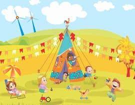 #39 cho Design for Children Role-Play Tent bởi freelancersatya